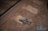 В Киеве на пригородной станции поезд сбил мужчину