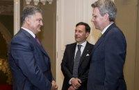 Порошенко попрощався з послами США та Італії, що завершили роботу в Україні