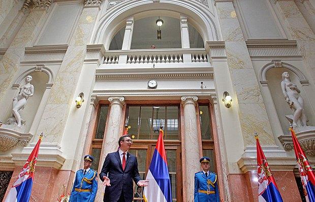 Александар Вучич у парламенті, Белград, 31 травня 2017