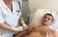 """Комбату """"Червню"""" Андрею Гергерту нужна помощь в борьбе с раком желудка"""