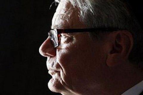Президент Германии назвал Бабий Яр уникальным местом ужаса