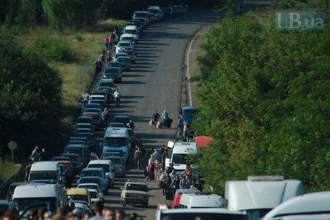 Боевики блокировали все пункты пропуска на линии разграничения (обновлено)