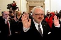 """Президент Латвії заявив, що нехтування РФ міжнародним правом не можна приймати як """"нову норму"""""""