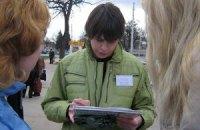 Сторонников и противников Майдана оказалось почти равное количество