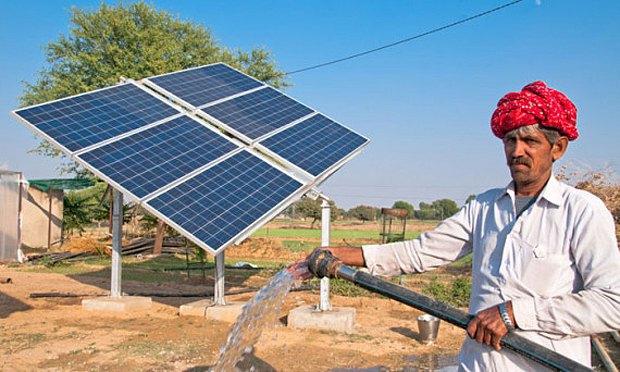 Использование энергии солнца в Индии