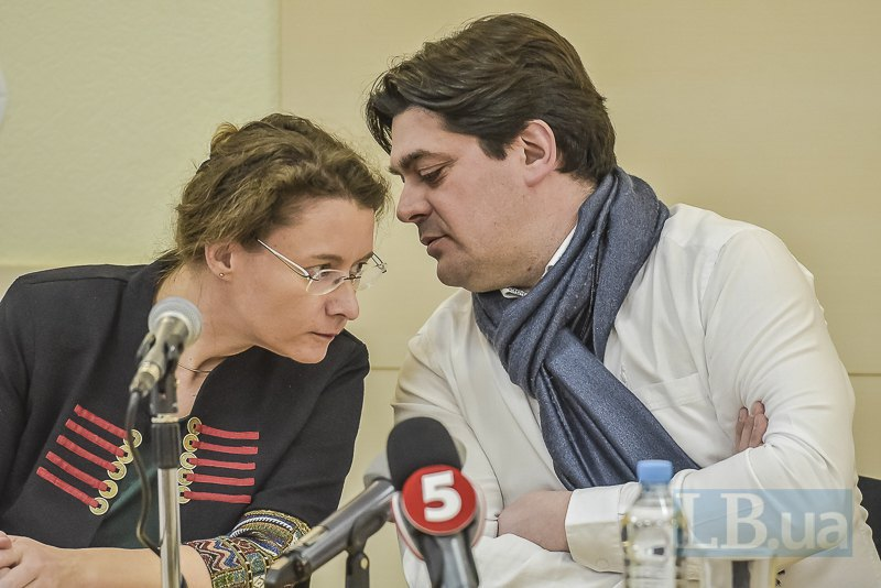 Пьер Тийуа и Изабель дюмон