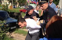 В России жестко задержали оппозиционера Яшина