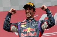 Ріккардо, здобувши першу перемогу в кар'єрі, урвав гегемонію Mersedes