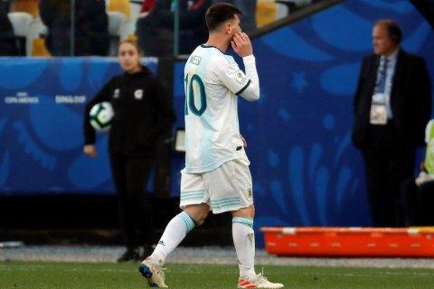 Над Мессі нависла загроза 2-річної дискваліфікації виступів за збірну Аргентини