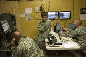 Американские разведчики в Ираке использовали компьютеры для игр