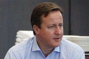 Британський прем'єр Кемерон закликав світ до боротьби з голодом