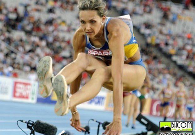 Ольга Саладуха - главный претендент на «золото» в тройном прыжке