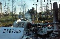 Углегорская ТЭС снова остановилась из-за обстрелов