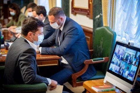 Зеленський відчитав Тищенка з приводу ресторану Велюр