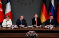 Четырехсторонный саммит по Сирии продолжался около трех часов