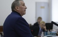 """Экс-губернатор Щербань свидетельствует """"по бумажке"""""""