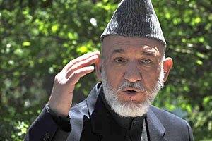 Карзай обвинил НАТО в убийстве четырех афганских детей