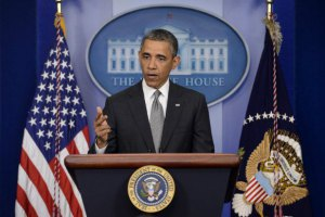 Обама застеріг Росію від військового вторгнення в Україну