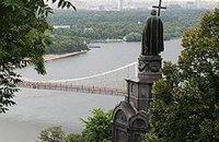 Володимирська гірка сповзає до Дніпра