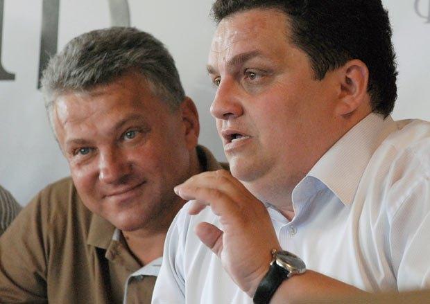 Павел Андрусяк(справа) и Роман Ткач