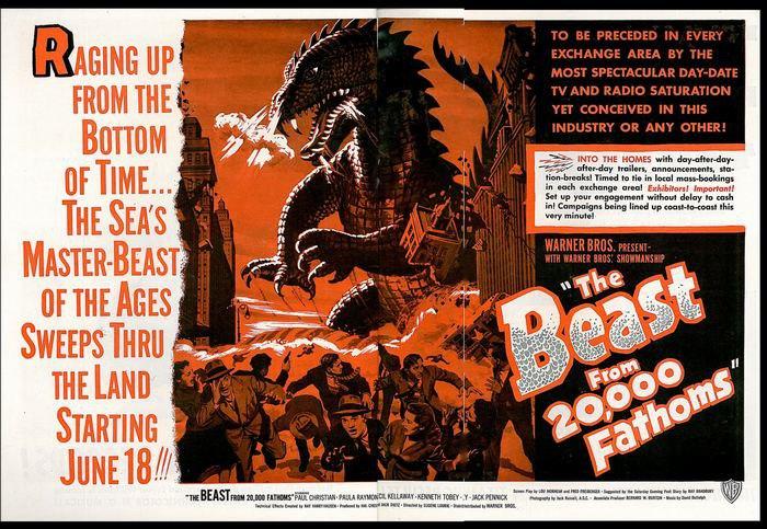 Постер к фильму «Чудовище с глубины 20 тысяч фатомов»
