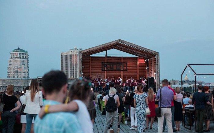 Концерт в Roof, 22 серпня, 2018.