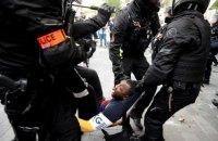 В Париже на акции против расизма произошли столкновения с полицией