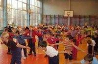 В днепропетровских школах уже применяют индивидуальный подход на уроках физкультуры