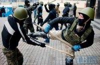 Як тренується Майдан: сотні самооборони вдосконалюють майстерність