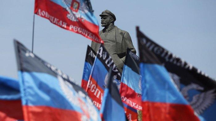 Митинг на площади Ленина, Донецк