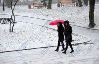 Завтра в Киеве небольшой снег, -3...-5