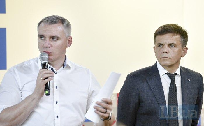 <b>Александр Сенкевич и Сергей Сухомлин</b>
