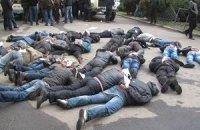 В Харькове задержали 70 сепаратистов (добавлены фото и видео)