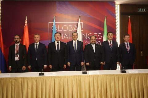 ВАстане подписано соглашение озоне свободной торговли между Ираном иЕАЭС