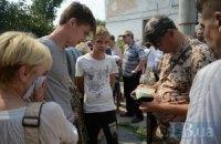 Гуманитарным коридором из Луганска в среду воспользовались 98 человек