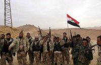 Войска Асада продолжают наземное наступление в районе Дамаска, несмотря на перемирие