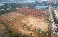 В Китае строят спецбольницу для больных коронавирусом
