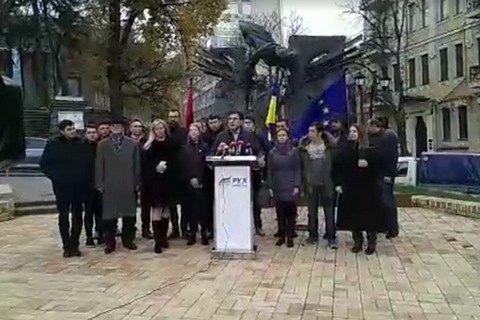 Саакашвили решил искать защиты от депортации в палаточном городке у Рады (обновлено)