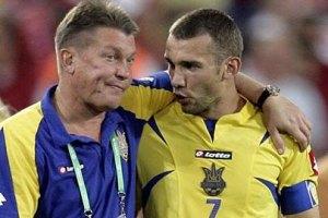 Шевченко и Блохин получат кепку и медаль от УЕФА