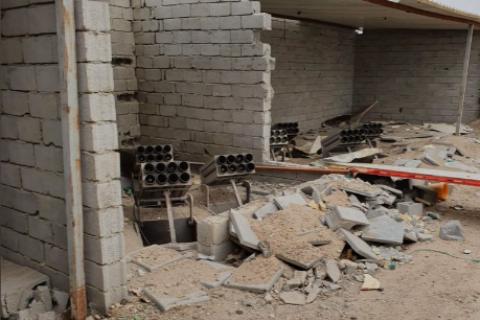 При ракетной атаке на базу коалиции в Ираке пострадали трое военных