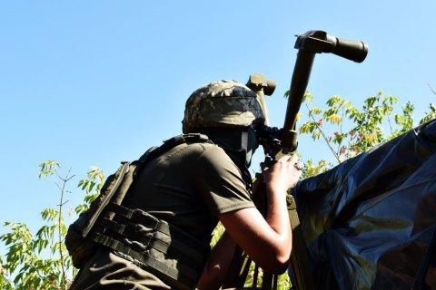 Оккупанты на Донбассе 4 раза обстреляли украинские позиции
