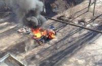 У Харкові вибухнув ще один автомобіль