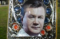 """В Луганске проведут крестный ход с """"иконой Януковича"""""""