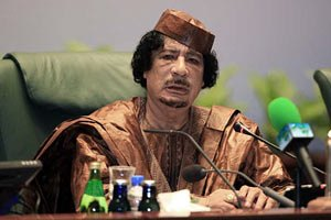 Германия обвиняет Каддафи в преступлениях против человечества