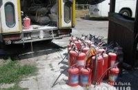На нефтебазе в Полтавской области произошел взрыв, есть погибший