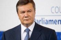 Янукович: суд не нарушает закон, его нарушает Тимошенко и ее депутаты