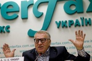 Ображена Жириновським журналістка подала на нього заяву в поліцію