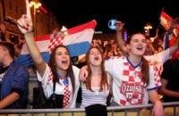 Хорваты опередили испанцев и итальянцев