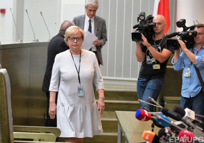Глава Верховного суду Польщі Малгожата Герсдорф