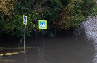 В Москве реки вышли из берегов